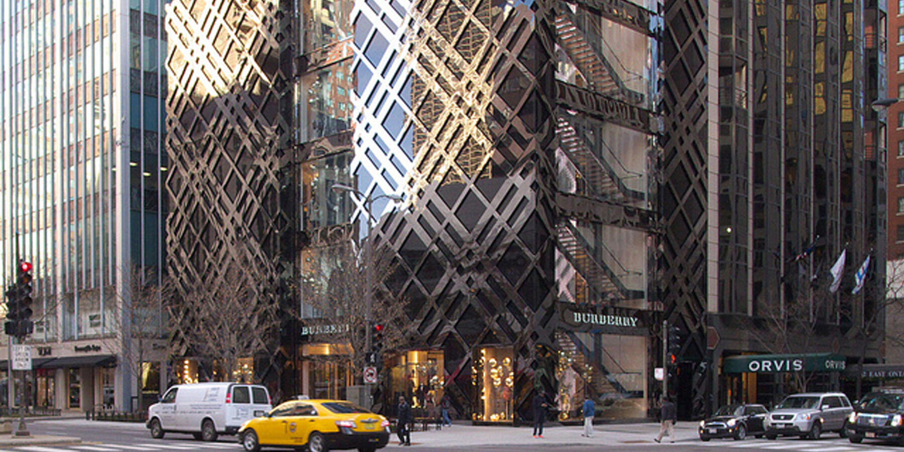 Power Construction Burberry Flagship Chicago