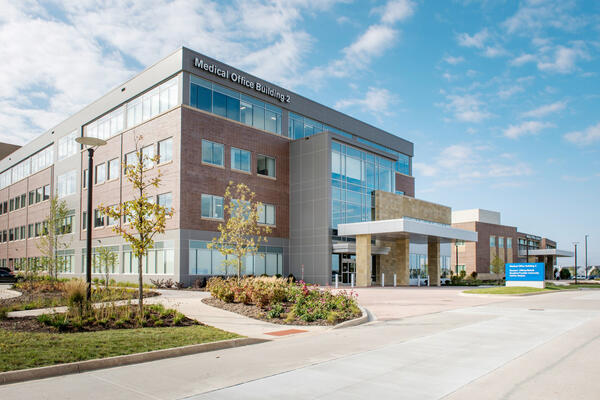 Chicago Medical Construction Company - Northwestern Huntley exterior