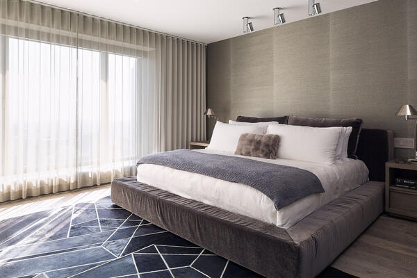 Chicago Luxury Home Builders - One Magnificent Mile bedroom