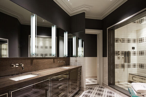 High End Home Builders Chicago - Trump Tower Residences bathroom