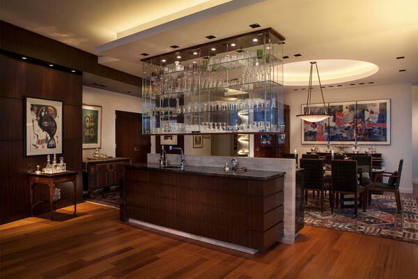 High End Home Contractors Chicago - The Legacy kitchen and dining room
