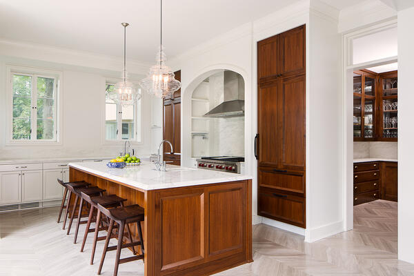 Historic Home Restoration & Renovation - Hyde Park Chicago kitchen
