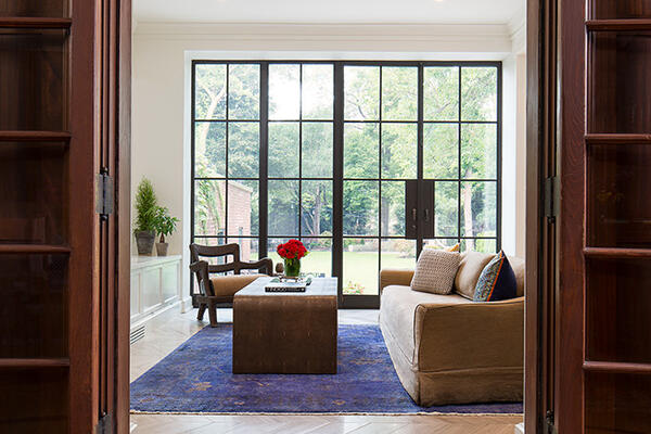 Historic Home Restoration & Renovation - Hyde Park Chicago living room