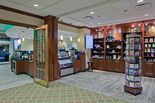 Senior Living Construction - Presbyterian Homes Lake Forest book store and gift shop