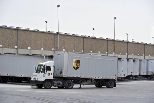 UPS Chicago Area Consolidation Hub