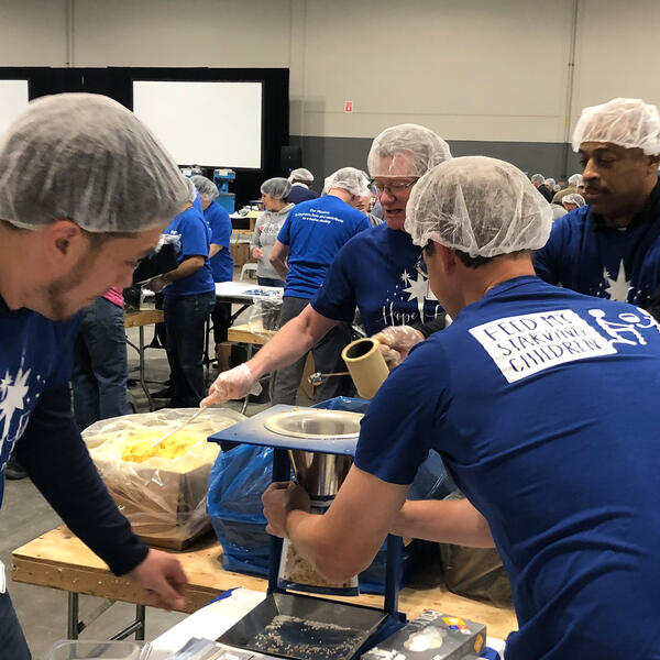 Power with Purpose Feed My Starving Children